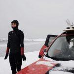 アックス冬のウエットスーツ