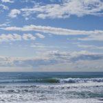 春の良い波