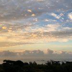 朝の良い波